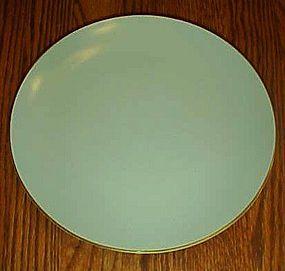 Noritake china 621 lt green w/gold trim luncheon plate