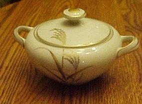 Harmony House Fine China Golden Wheat sugar bowl