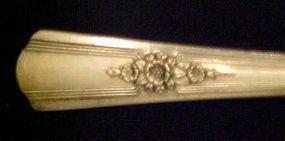 Wm Rogers IS Desire pattern Grille fork 1940