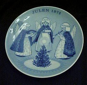Julen 1972 delft limited ed plate Porsgrunds Norway
