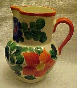 Vintage Hand Painted Erphila Czechoslovakia pitcher
