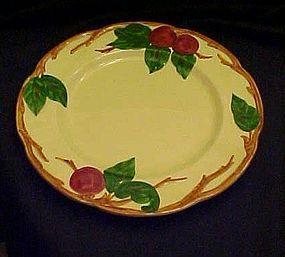 """Vintage 1940-49 Franciscan Apple 9 5/8""""  dinner plate"""