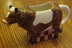 C I C Susan Winget Homstead cow creamer