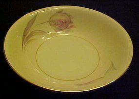Homer Laughlin Eggshell Nautilus Tulip sauce bowl