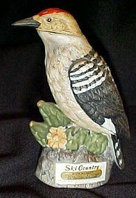 Ski Country miniature Gila Woodpecker decanter limited