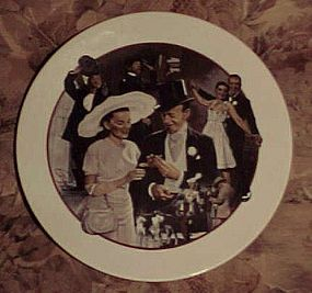 Avon Images Of Hollywood Easter Parade plate