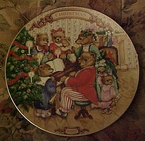Avon Christmas plate1989 Together for Christmas