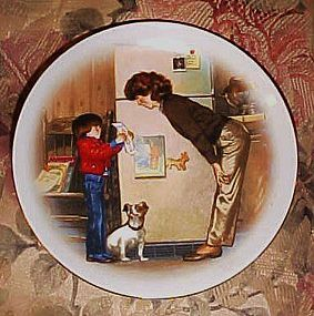 """Avon Special Memories 5"""" plate  Mother"""