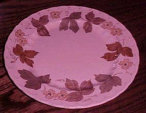 Metlox Vernonware Autumn Leaves dinner plate