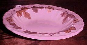 Metlox Vernonware Autumn leaves fruit sauce bowl