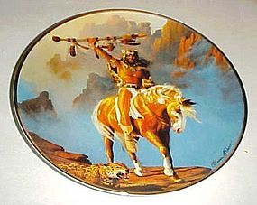 Spirit of the South wind collector plate Hermon Adams