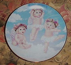 Dreamsicles collector plate Heavenly Pirouettes