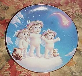 Dreamsicles collector plate Wishing upon a Star