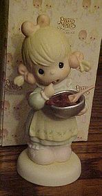 Precious Moments figurine, You can always Fudge a....