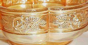 Jeanette marigold carnival color Aztec Rose bowl