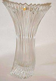 Beautiful Diamond Surf lead crystal vase Mikasa ?