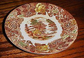 Nasco Mountain Woodland single saucers no cup