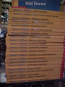 Getting to know Natures Children animal book set of 22