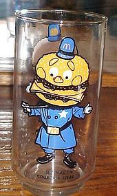 McDonalds Big Mac Collectors series drinking  glass
