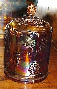 """Indiana Harvest small marigold canister 7"""""""