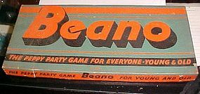 Vintage Milton Bradley BEANO game complete