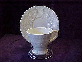 Wedgewood Wellesley demitass cup and saucer