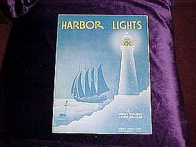 Harbor Lights by Jimmy Kennedy and Hugh Williams