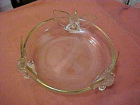 Jeanette Glass  triple eagle bowl