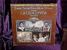 Caballe, Pavarotti, Balsta, Milnes, Ghiaurov Lp set