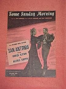 Some Sunday Morning, sheet music 1945