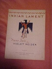 Indian Lament by Violet Reiser 1953
