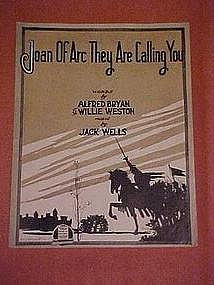 Joan of Arc They are calling you, Jack Wells 1917