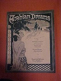 Arabian Dreams, by Herbert B. Marple 1918