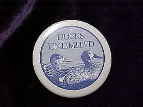 Ducks Unlimited pin back button