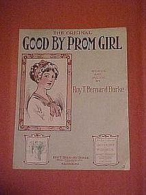 Good By Prom Girl, by Joseph Gallegher 1913