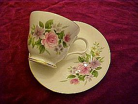 Sadler, Wellington, bone china cup & saucer
