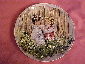 """Wedgewood """"Be my friend"""" by Mary Vickers 1981"""