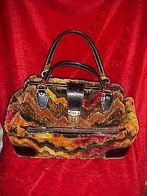 Vintage carpet bag/ satchel/purse