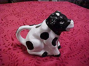 Cow creamer black & white