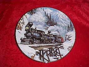 Winter Crossing, Winter Rails series, by Ted Xaras