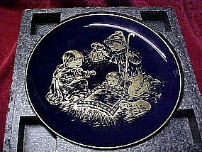 Holy Night collector plate from A Childs Christmas