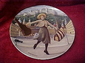 """Knowles, The sound of music plate, """"I have confidence"""""""