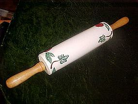 Apples and Ivy crockery rolling pin