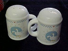 Moonlight Ten Strawberry St. geese  s & p shakers