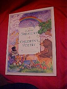 The Classsic Treasury of Childrens Poetry,  WONDERFUL!!