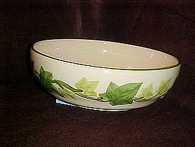 "Franciscan Ivy 8 1/8"" round vegetable bowl, USA"