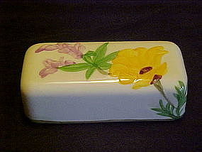 Franciscan poppy 1/4 lb butter cover