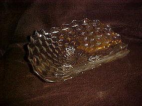 "Fostoria American three corner centerpiece bowl 11"""