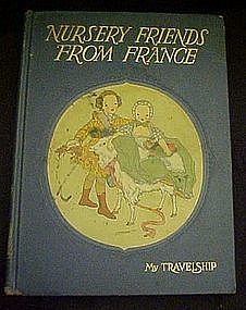 Nursery Friends from France, vintage childrens  book