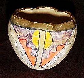 Old native American pottery vase